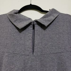 eshakti Dresses - Gray Embroidered Swing Dress (Size 3X 26W)